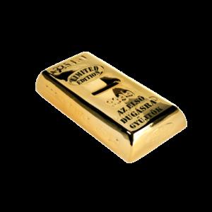 Az első dugásra gyűjtök aranyrúd pénzgyűjtő persely termék kép