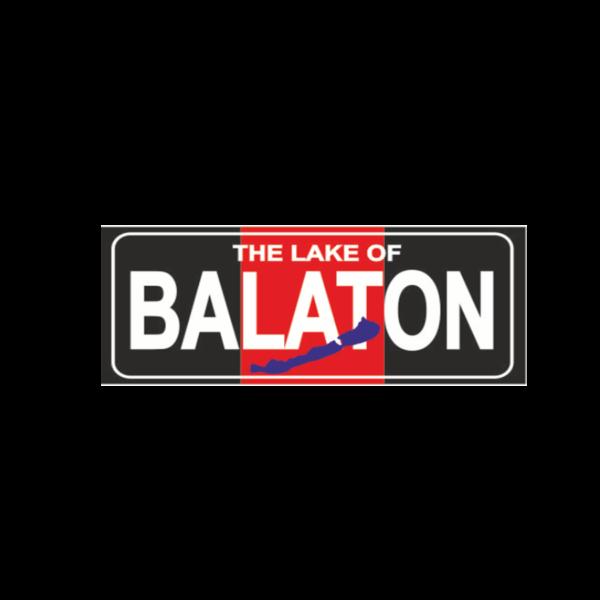 Balaton fekete hűtőmágnes termék kép