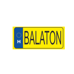 Balaton sárga hűtőmágnes termék kép