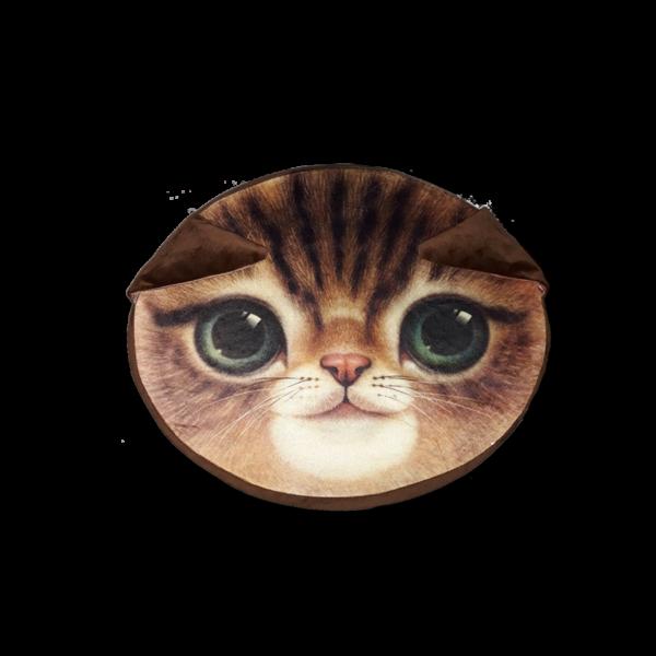Cica barna - Ülőpárna termék kép