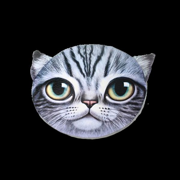 Cica kék - Ülőpárna termék kép
