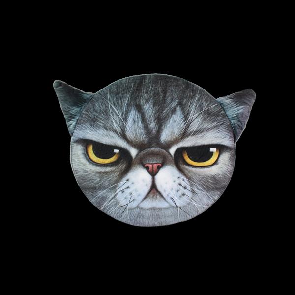 Cica szürke - Ülőpárna termék kép