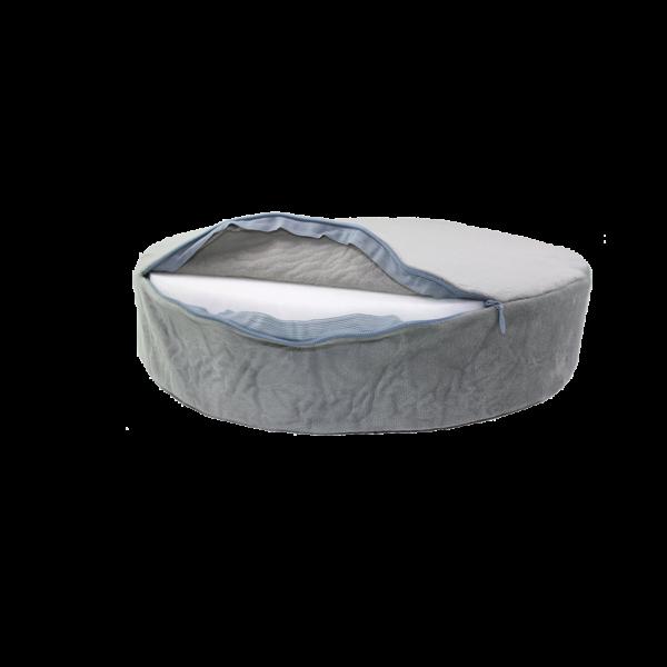 Cica szürke - Ülőpárna hátulja termék kép
