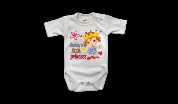 Daddy s little princess Baba body rugdalózó termék kép