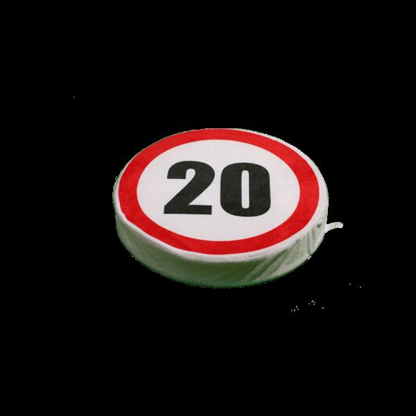 Happy Birthday! 20 - Ülőpárna termék kép