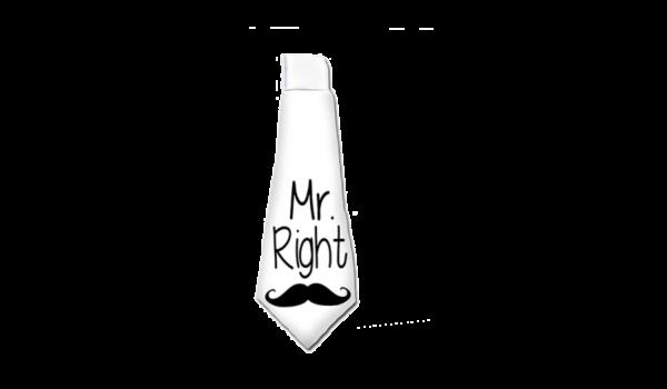 Mr. Right vicces nyakkendő termék kép