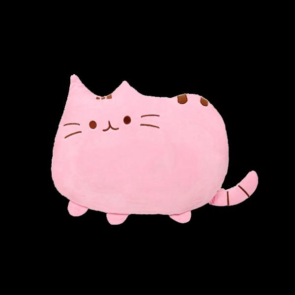 Plüss Pusheen Cat - Rózsaszín Cicás Párna termék kép