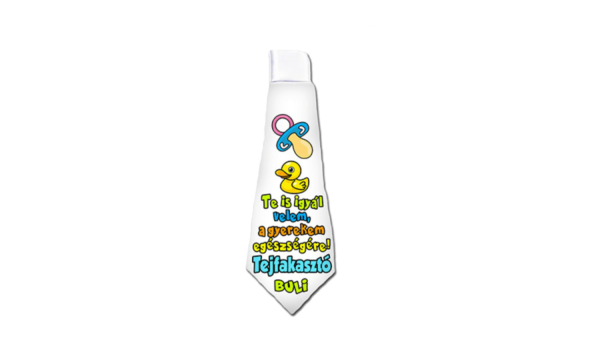 Tejfakasztó vicces nyakkendő termék kép