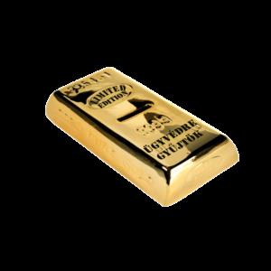 Ügyvédre gyűjtök aranyrúd pénzgyűjtő persely termék kép