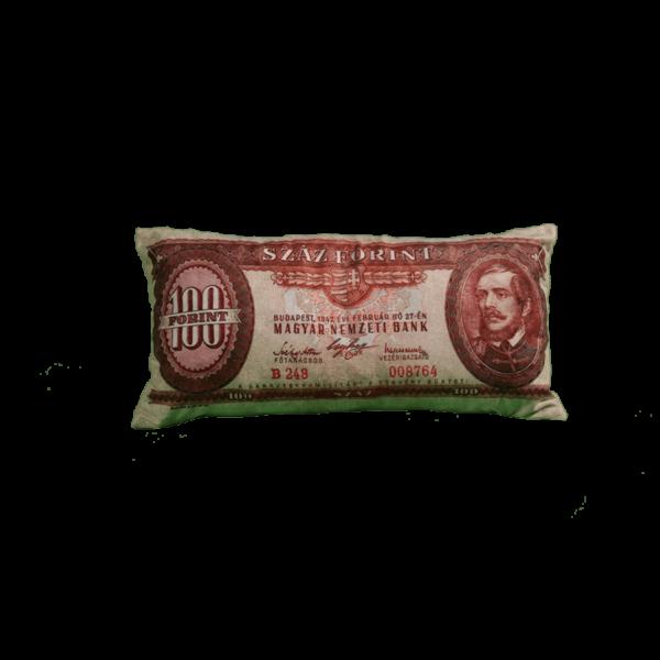 100 Ft mintás egyedi pénzes párna termék kép
