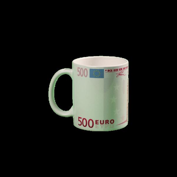 500 Euró mintás pénzes bögre termék kép