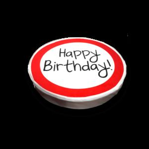 Happy Birthday! 50 – Ülőpárna termék kép hátulja