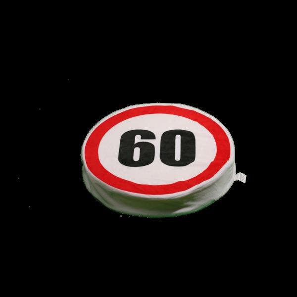 Happy Birthday! 60 – Ülőpárna termék kép
