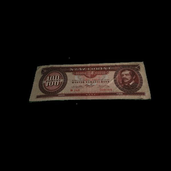100 Ft mintás egyedi pénzes kicsi törölköző termék kép