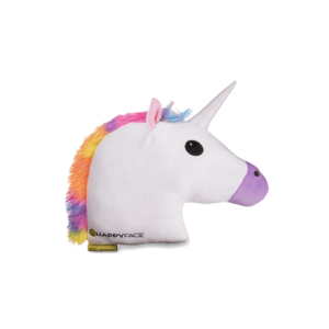 Unikornis emoji plüss Párna fehér párna 32 cm termék kép