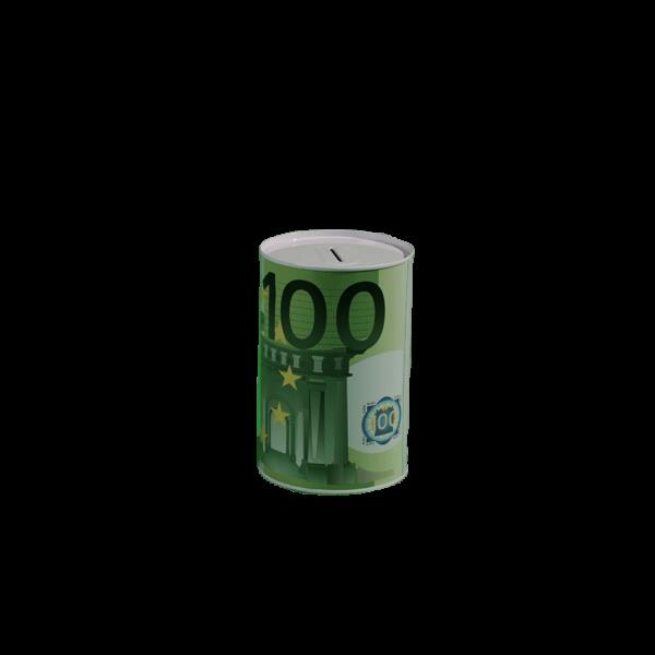 100 Euró mintás pénzes persely termék kép