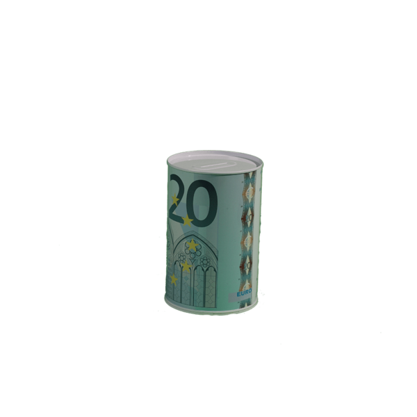 20 Euró mintás pénzes persely termék kép 1
