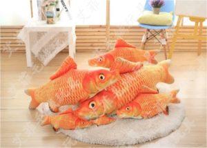 3D Aranyhal halas párna termék kép