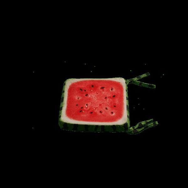 3D Szögletes dinnye gyümölcsös ülőpárna termék kép