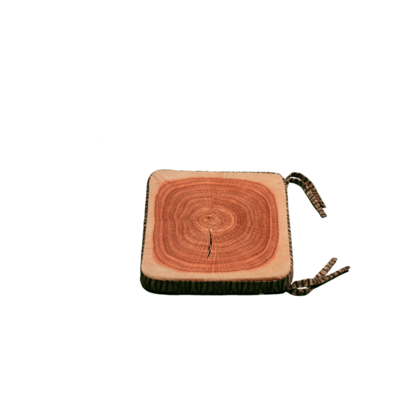 3D szögletes farönk ülőpárna termék kép