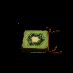 3D szögletes kivi gyümölcsös ülőpárna termék kép