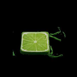 3D szögletes lime gyümölcsös ülőpárna termék kép