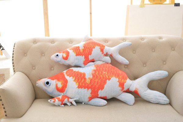 Koi Ponty 3D halas párna termék kép