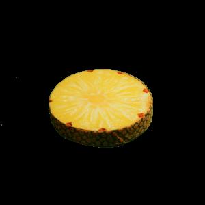 Ananász gyümölcs kerek ülőpárna termék kép