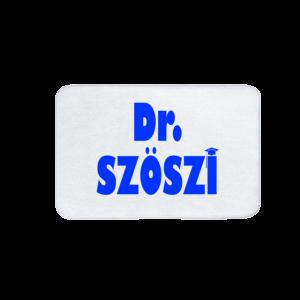Dr. Szöszi vicces feliratos Fürdőszoba Szőnyeg termék kép