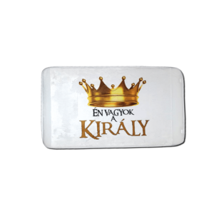 Én vagyok a király vicces feliratos Fürdőszoba Szőnyeg termék kép
