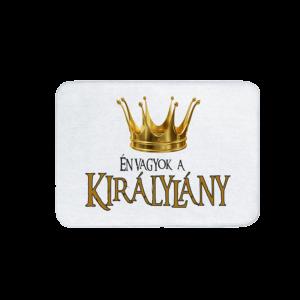 Én vagyok a királylány vicces feliratos Fürdőszoba Szőnyeg termék kép