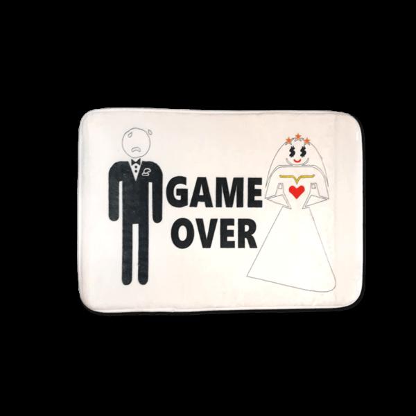 Game Over vicces feliratos Fürdőszoba Szőnyeg termék kép