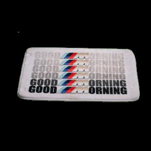 Good Morning vicces feliratos Fürdőszoba Szőnyeg termék kép