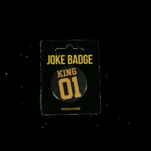 king 01 páros kitűző termék kép