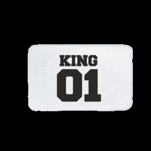King 01 vicces feliratos Fürdőszoba Szőnyeg termék kép