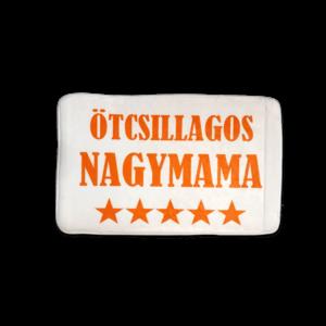 Ötcsillagos Nagymama vicces feliratos Fürdőszoba Szőnyeg termék kép