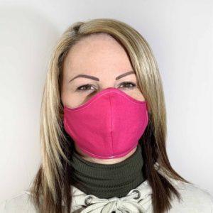 Pink színű szájmaszk termék kép