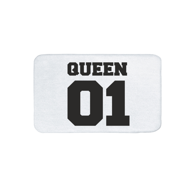 Queen 01 vicces feliratos Fürdőszoba Szőnyeg termék kép