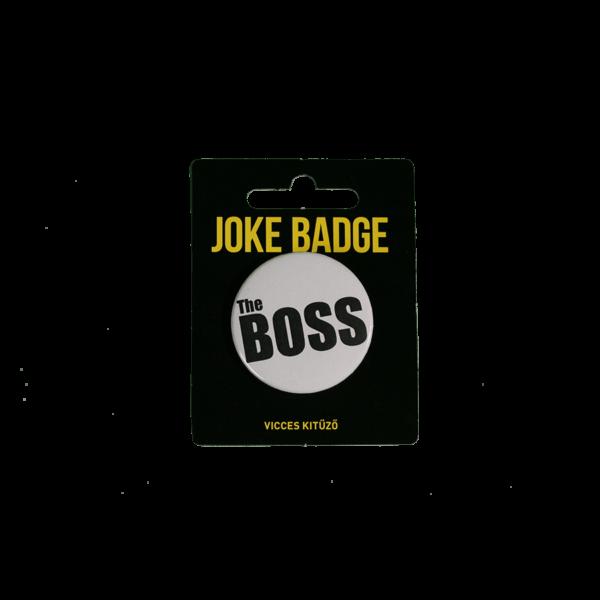 The Boss páros kitűző termék kép