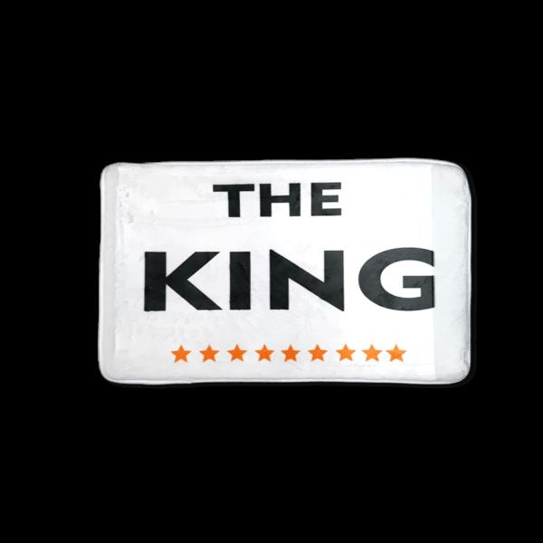 The King vicces feliratos Fürdőszoba Szőnyeg termék kép