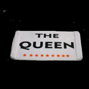 The Queen vicces feliratos Fürdőszoba Szőnyeg termék kép