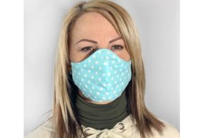 Türkiz színű szájmaszk termék kép