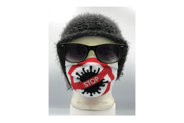 Covid Stop mintás szájmaszk termék kép