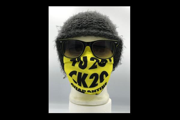 Fuck 2020 Quarantine mintás szájmaszk termék kép