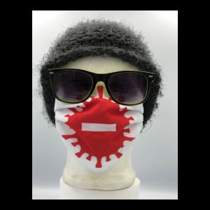 Koronavírus Stop! mintás szájmaszk termék kép