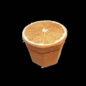 Narancs Tárolós ülőke puff termék kép