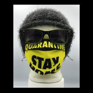 Quarantine Stay home mintás szájmaszk termék kép