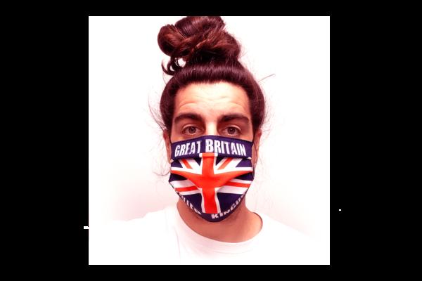 Angol zászló mintás szájmaszk termék kép