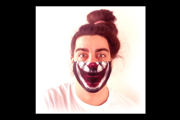 Joker mintás sima szájmaszk termék kép