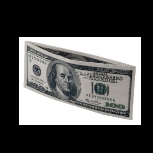 100 Dollár mintás pénztárca termék kép
